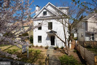 Washington Single Family Home For Sale: 4481 Q Street NW