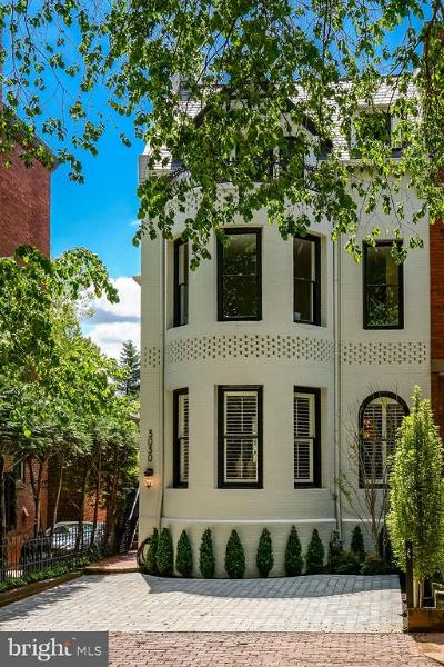 Georgetown Townhouse For Sale: 3030 Q Street NW