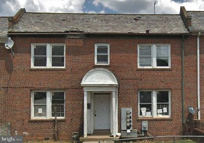 Washington Multi Family Home Active Under Contract: 1270 Meigs Place NE
