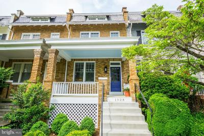 Georgetown Townhouse For Sale: 1928 37th Street NW