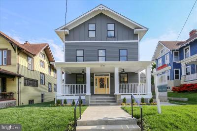 Petworth, Petworth/16th Street Heights, Petworth/Brightwood, Petwoth Single Family Home For Sale: 1316 Emerson NW