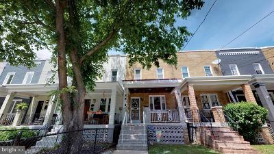 Townhouse For Sale: 715 Gallatin Street NW