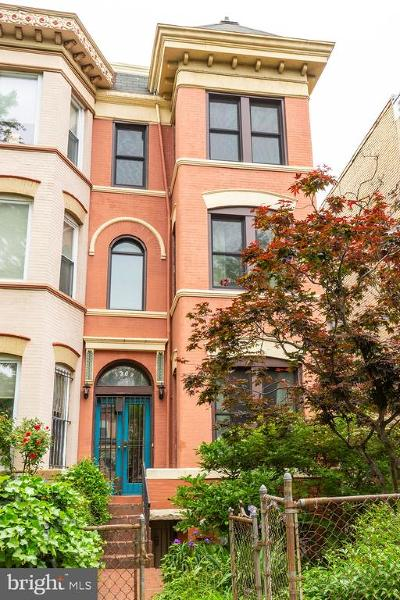 Columbia Heights Townhouse For Sale: 1309 Irving Street NW