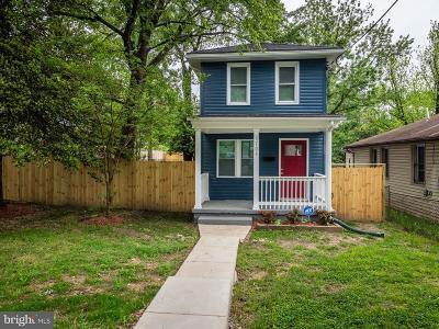 Deanwood Single Family Home For Sale: 5705 Foote Street NE