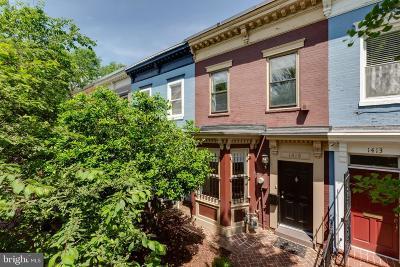 Washington DC Townhouse For Sale: $1,170,000