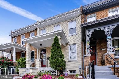 Townhouse For Sale: 424 Lamont Street NW