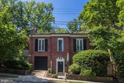 Single Family Home For Sale: 4700 Reservoir Road NW