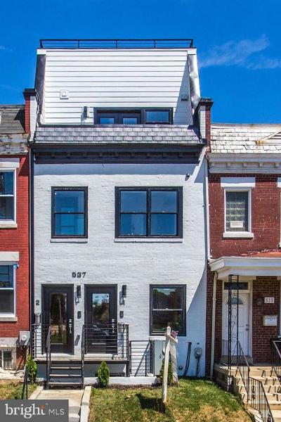 Columbia Heights Condo For Sale: 537 Gresham Place NW #1