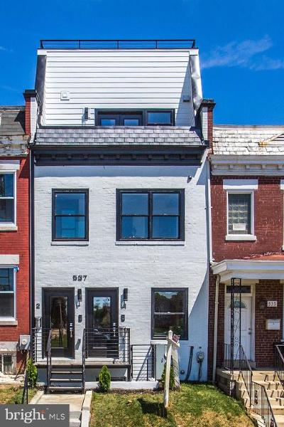 Columbia Heights Condo For Sale: 537 Gresham Place NW #2