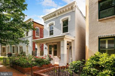 Washington Townhouse For Sale: 706 C Street NE