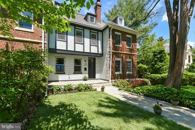 Woodley Park Townhouse For Sale: 3225 Klingle Road NW
