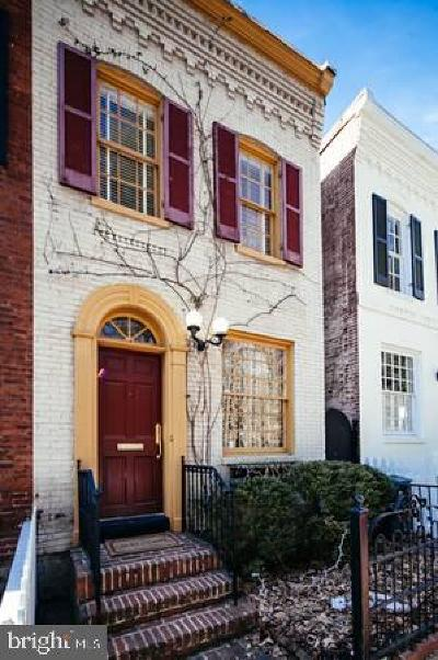 Georgetown Townhouse For Sale: 1640 32nd Street NW