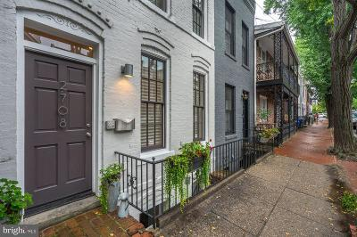 Georgetown Townhouse For Sale: 2708 Olive Street NW