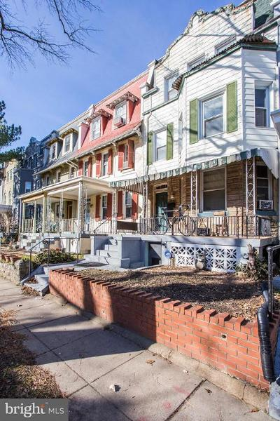 Columbia Heights Townhouse For Sale: 719 Quebec Place NW