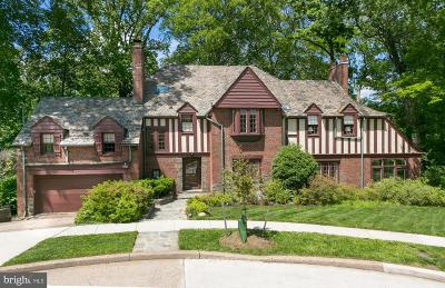 Washington DC Single Family Home For Sale: $3,490,000