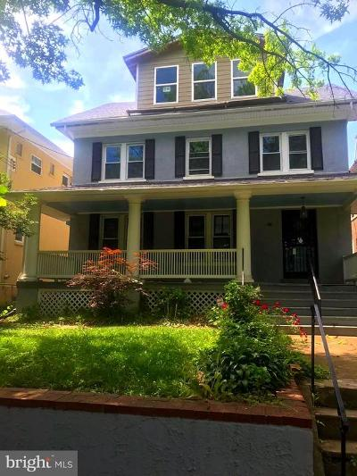 Washington Single Family Home For Sale: 5614 14th Street NW