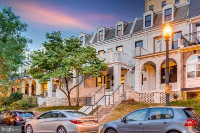 Adam Morgans, Adams Morgan, Adams Morgan/Meridian Hill Townhouse For Sale: 1632 Argonne Place NW