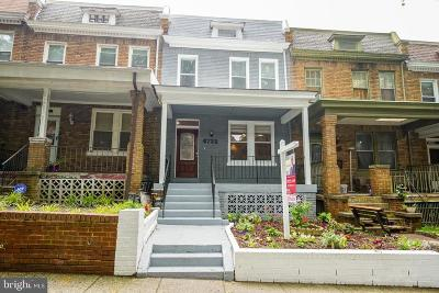 Petworth, Petworth/16th Street Heights, Petworth/Brightwood, Petwoth Townhouse For Sale: 4722 8th Street NW