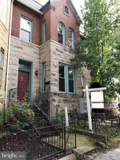 Eckington Townhouse For Sale: 3 Quincy Place NE