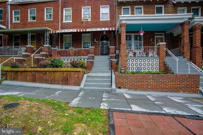Washington Townhouse For Sale: 4608 8th Street NW