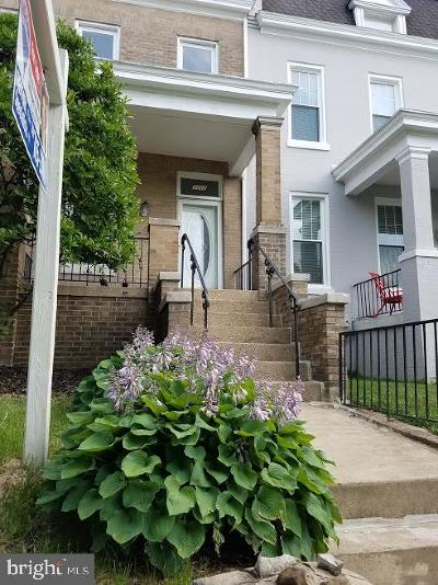 Petworth, Petworth/16th Street Heights, Petworth/Brightwood, Petwoth Townhouse For Sale: 1112 Buchanan Street NW