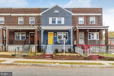 Capitol Hill, Capitol Hill East, Capitol Hill/H Street, Capitol Square Place Townhouse For Sale: 503 21st Street NE