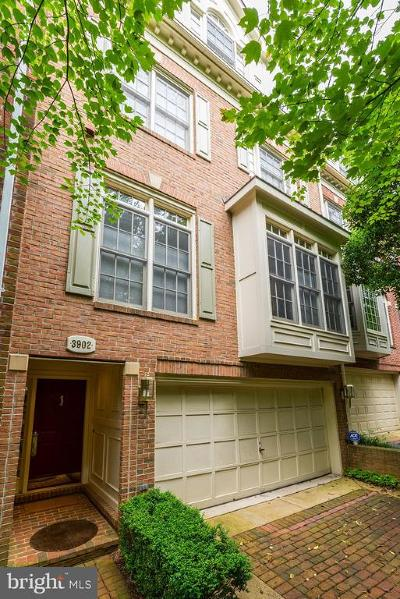 Georgetown Townhouse For Sale: 3902 Hillandale Court NW