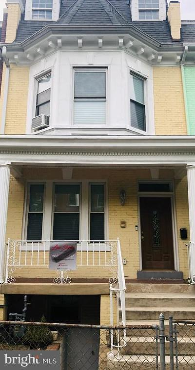 Columbia Heights Townhouse For Sale: 1371 Monroe Street NW