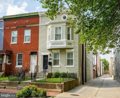 Logan Circle Townhouse For Sale: 201 P Street NW