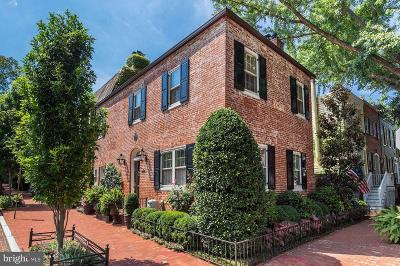 Georgetown Single Family Home For Sale: 2701 O Street NW