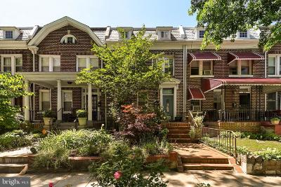 Petworth Townhouse For Sale: 23 Rock Creek Church Road NW