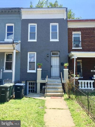 Rental For Rent: 1421 Maryland Avenue NE #A