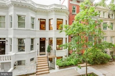Dupont Circle Townhouse For Sale: 1758 Church Street NW