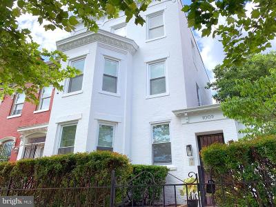 Logan Circle Single Family Home For Sale: 1009 O Street NW