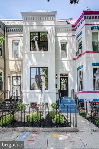 Logan Circle Townhouse For Sale: 87 P Street NW