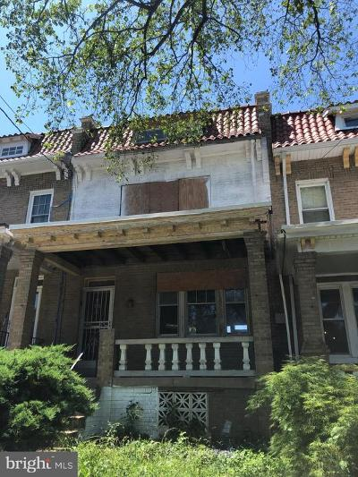 Petworth, Petworth/16th Street Heights, Petworth/Brightwood, Petwoth Townhouse For Sale: 4904 Kansas Avenue NW