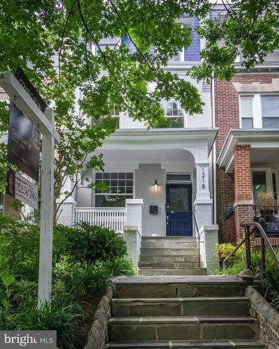 Washington Multi Family Home For Sale: 1218 Euclid Street NW