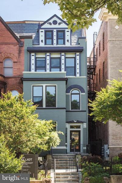 Columbia Heights Condo For Sale: 1338 Fairmont Street NW #3