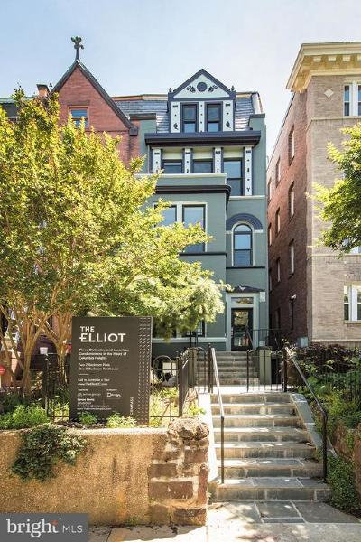 Columbia Heights Condo For Sale: 1338 Fairmont Street NW #1
