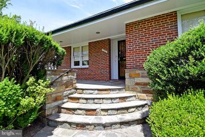 Washington Single Family Home For Sale: 1539 Locust Road NW
