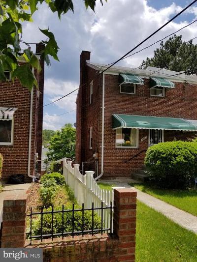 Washington Townhouse For Sale: 4367 Dubois Place SE