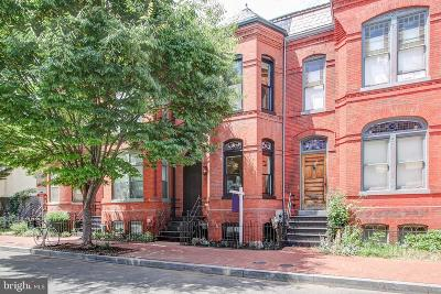 U Street Corridor Townhouse For Sale: 1321 Wallach Place NW