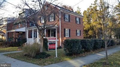 Washington Single Family Home For Sale: 3501 Alton Place NW