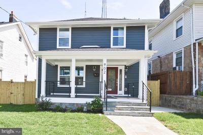 Brightwood Single Family Home For Sale: 902 Rittenhouse Street NW