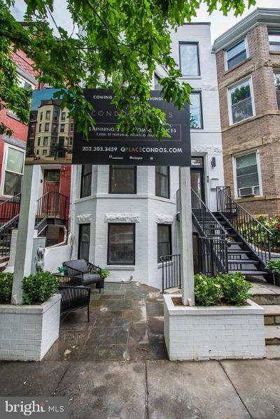 Washington Condo For Sale: 43 Quincy Place NW #1