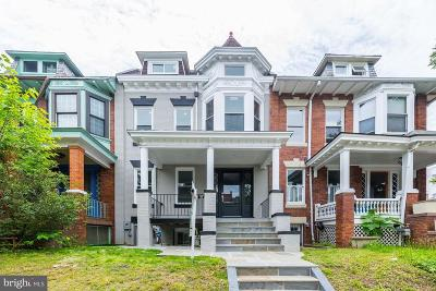 Washington Townhouse For Sale: 1362 Oak Street NW