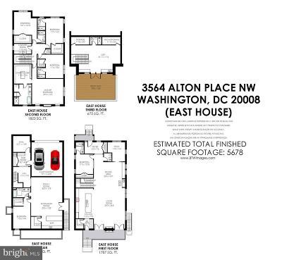 Washington Single Family Home For Sale: 3566 Alton Place NW
