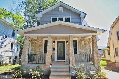 Washington Single Family Home For Sale: 6705 6th Street NW
