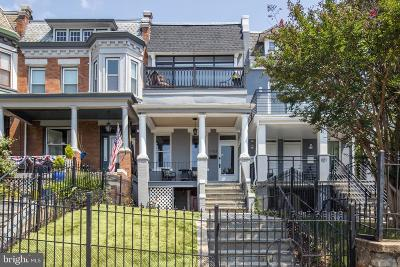 Columbia Heights Townhouse For Sale: 1103 Clifton Street NW