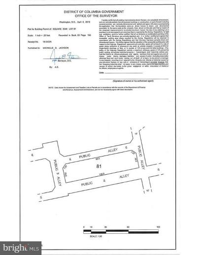 Washington Residential Lots & Land For Sale: Lois Mailou Jones Alley NW
